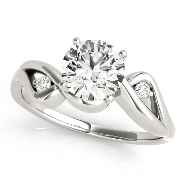 Love Bird Diamond Engagement Ring