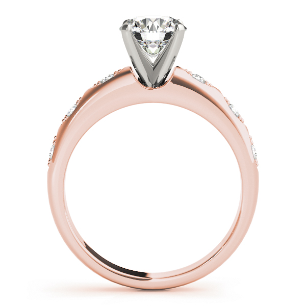 Swing Diamond Bridal Set in Rose Gold