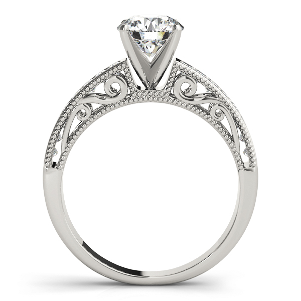 Classic Channel Set Princess Cut Diamond Engagement Ring