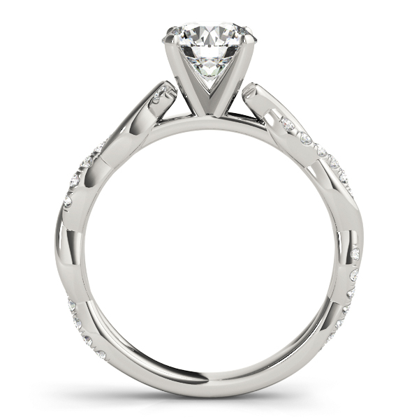 Petite Infinity Engagement Ring All Shapes