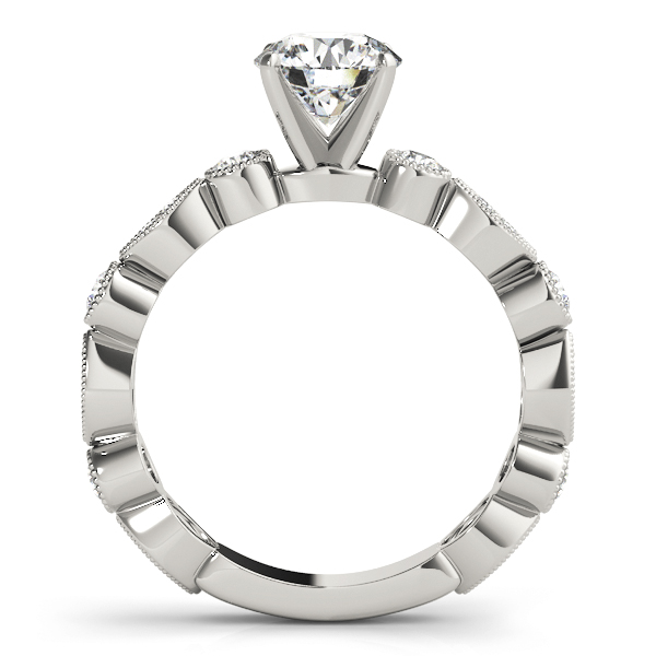Petite Diamond Swing Engagement Ring