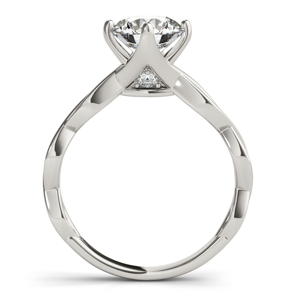 Channel Infinity Diamond Engagement Ring