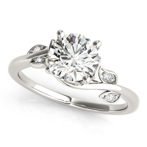Floral Vine Diamond Ring