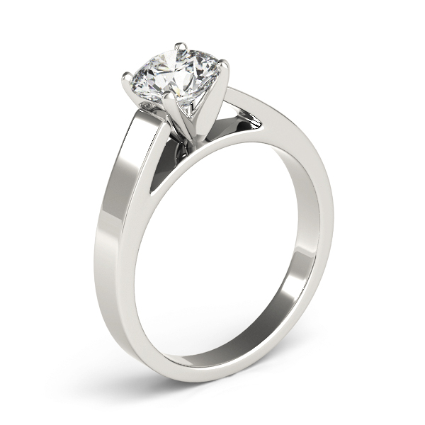 Classic Cathedral Solitaire Engagement Ring