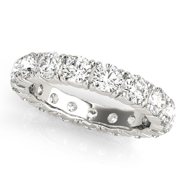 Round Diamond Eternity Band 1.7 Ct