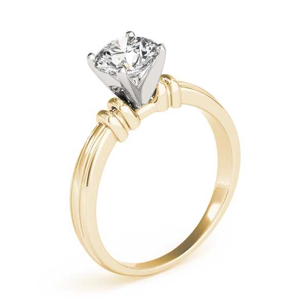 Solitaire Engagement Ring Yellow Gold