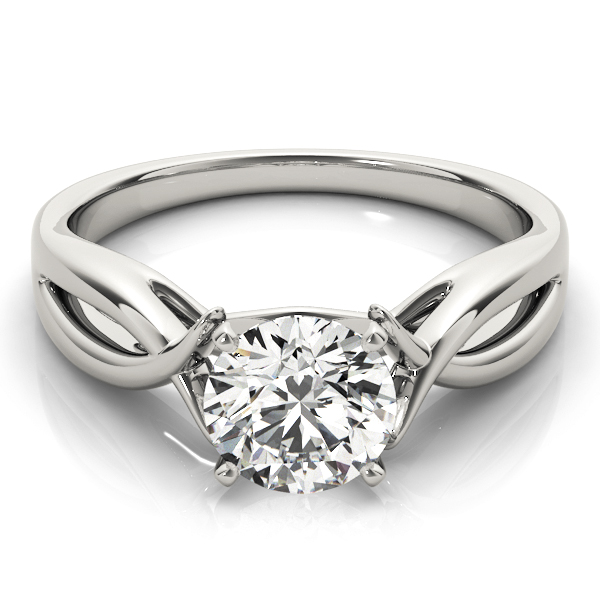 Cathedral Fish Engagement Ring