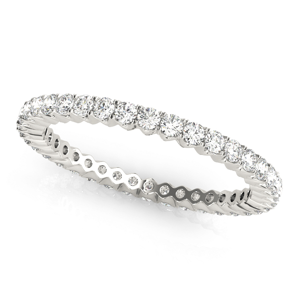 Petite Round Diamond Eternity Band