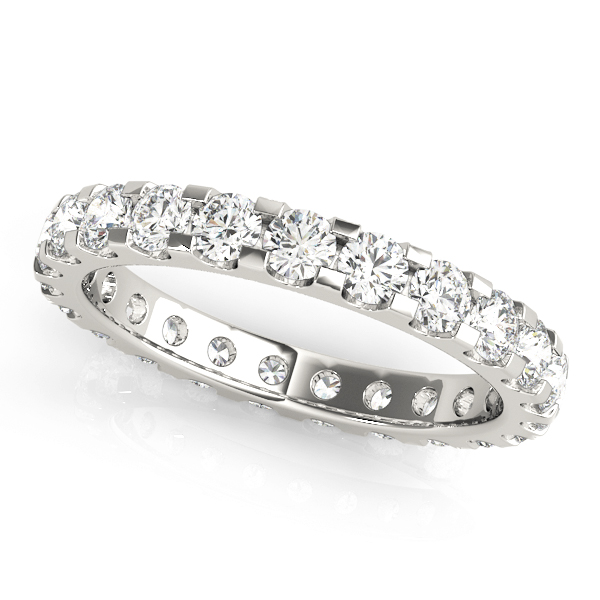 Diamond Eternity Band 4.0 Ct Platinum