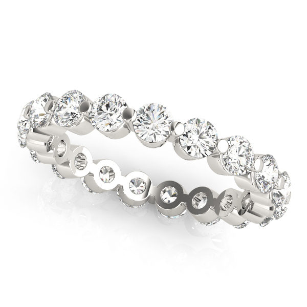 Round Diamond Eternity Band 0.72 Ct
