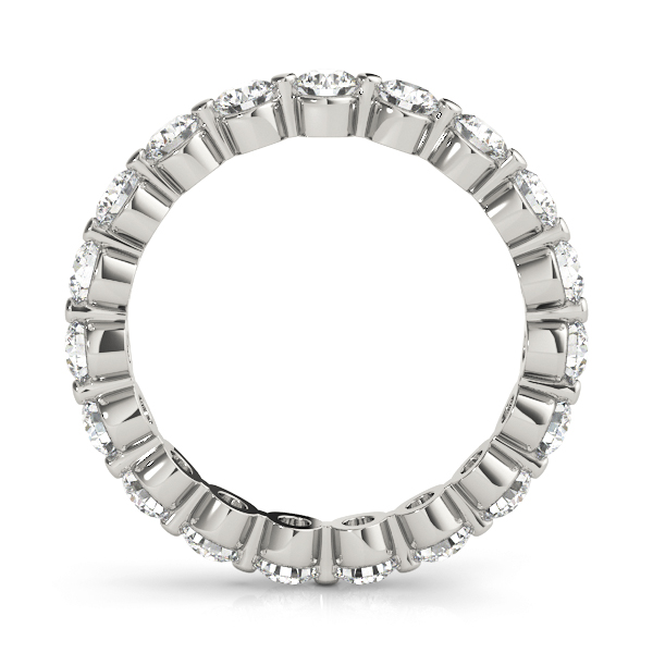 Diamond Eternity Band 2.4 Ct Platinum