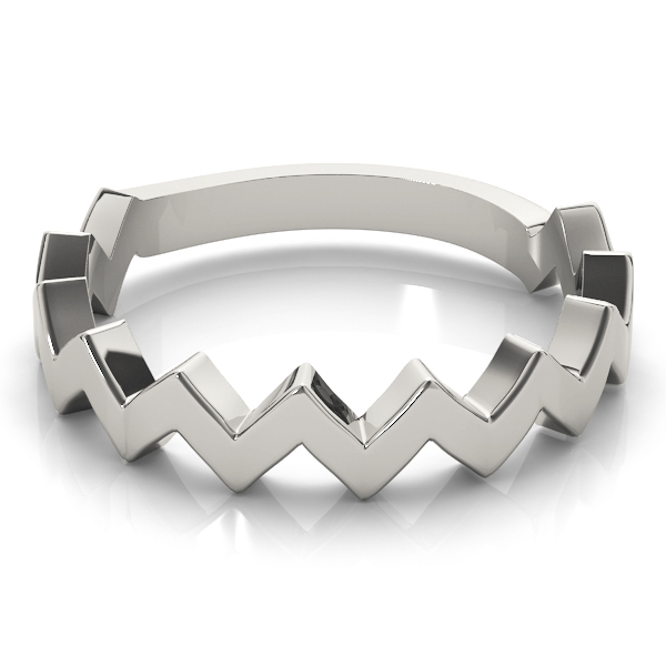 Herringbone Stackable Ring