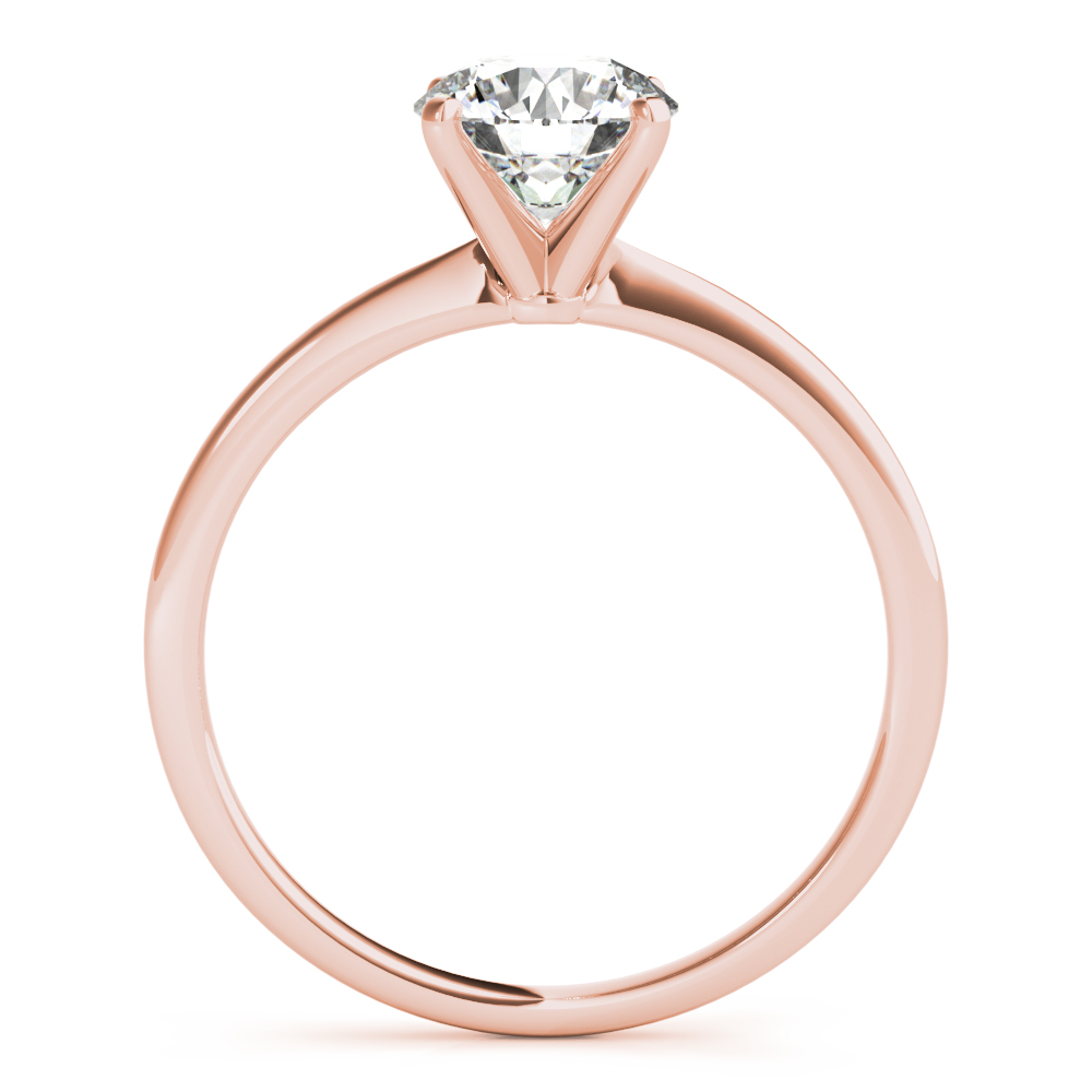 Rose Gold Solitaire Engagement Ring