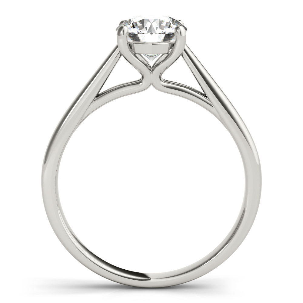 Unique Solitaire Cathedral Engagement Ring