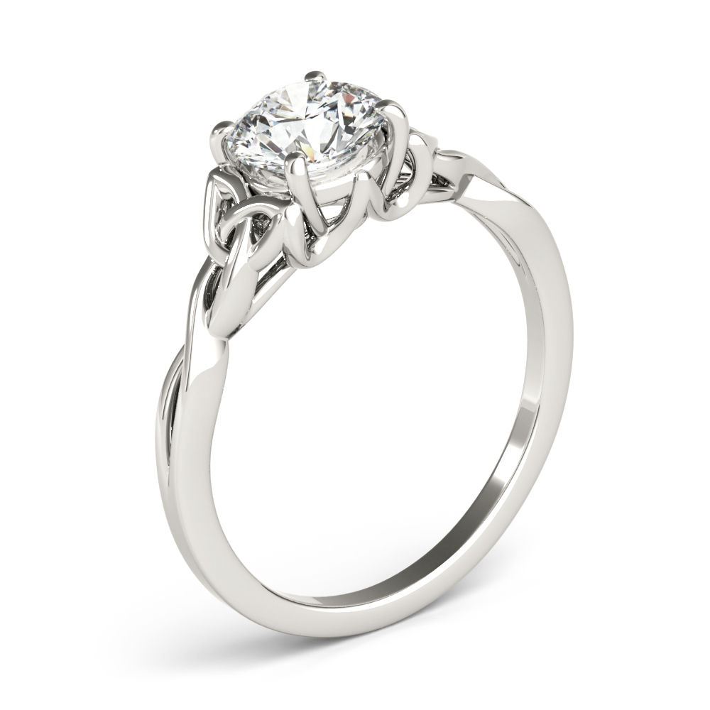 Solitaire Celtic Engagement Ring