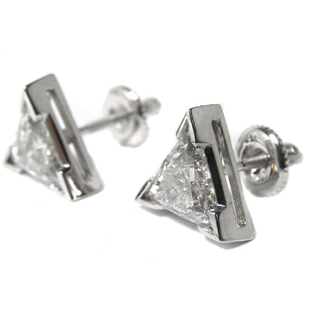 by yelloe dsc gold nodeform ready trillion stud bezel products moissanite set to yellow grande ship earrings