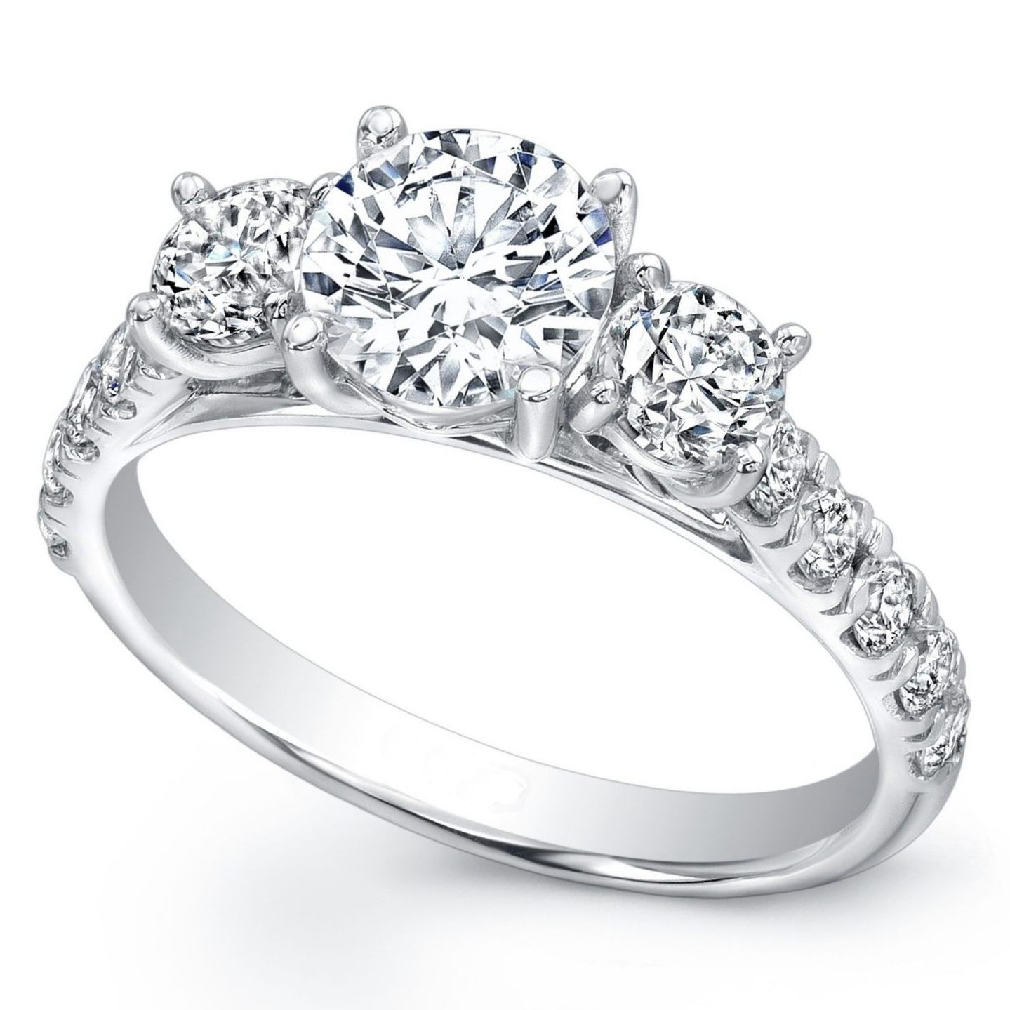 3 Stone Diamond Ring Perhanda Fasa
