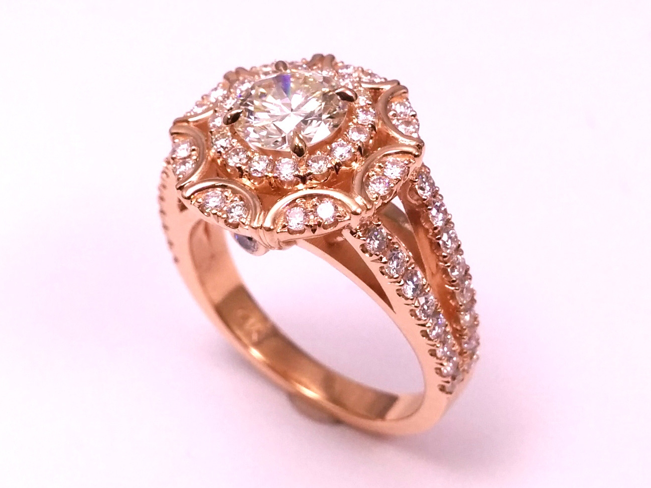 split-band - Engagement Rings from MDC Diamonds NYC