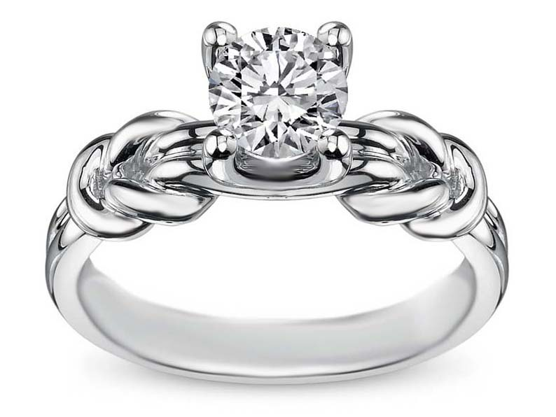 Well-liked Create Your Own Engagement Ring - Choose A Setting EV91