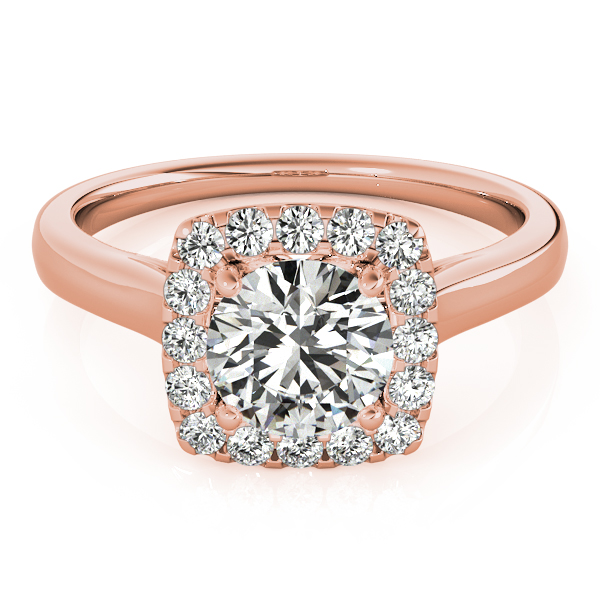 Round Engagement Rings from MDC Diamonds NYC