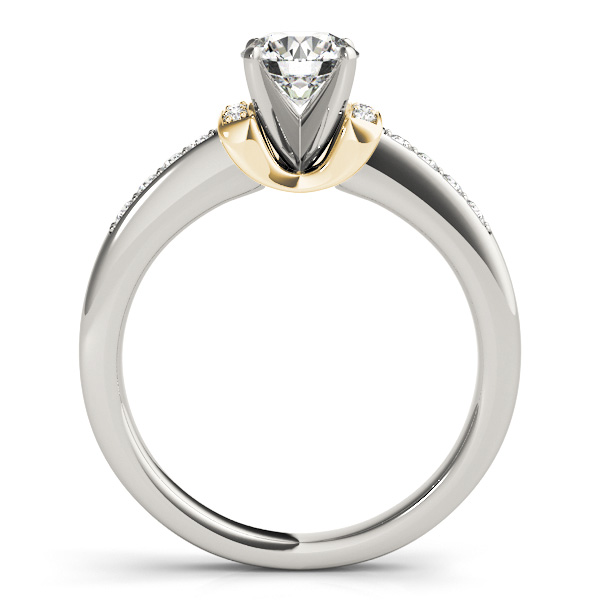 horseshoe enement rings from mdc diamonds nyc - Horseshoe Wedding Rings