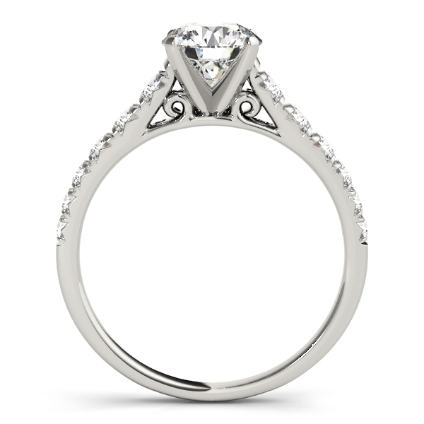 Diamond Cathedral Journey Engagement Ring