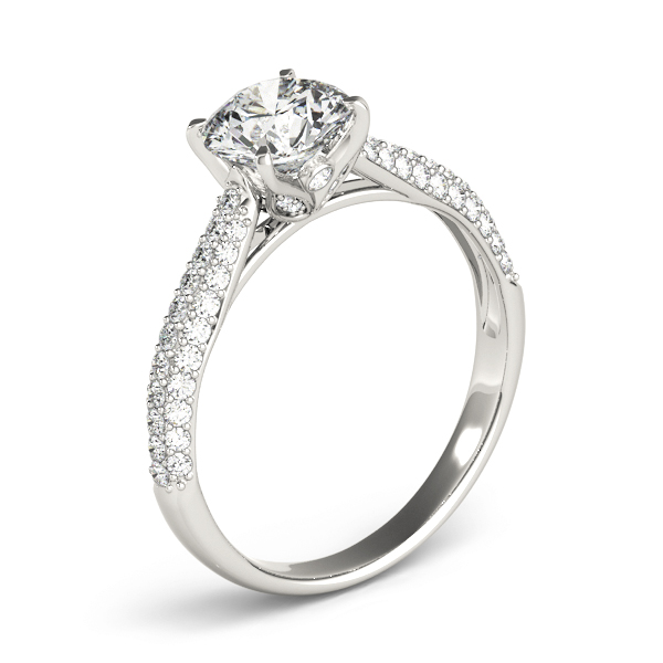 Etoil Cathedral Diamond Engagement Ring