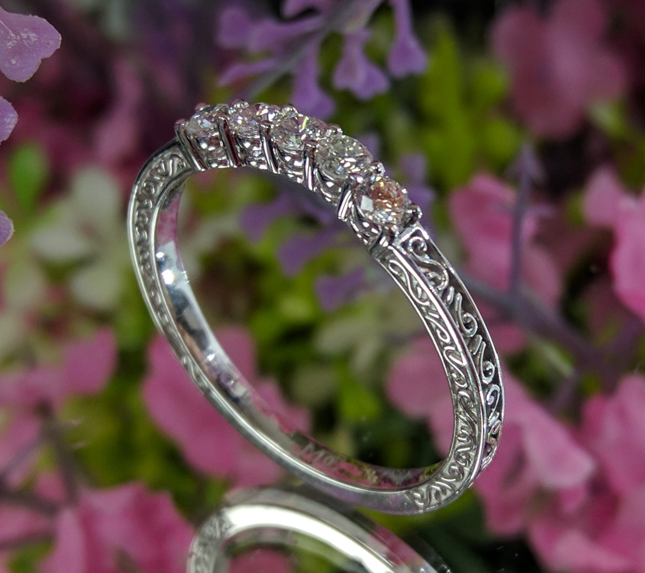 Matching Diamond Wedding Band for ES1873 series