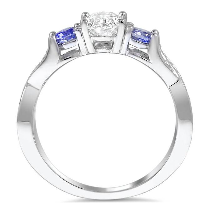 bluesapphire Engagement Rings from MDC Diamonds NYC