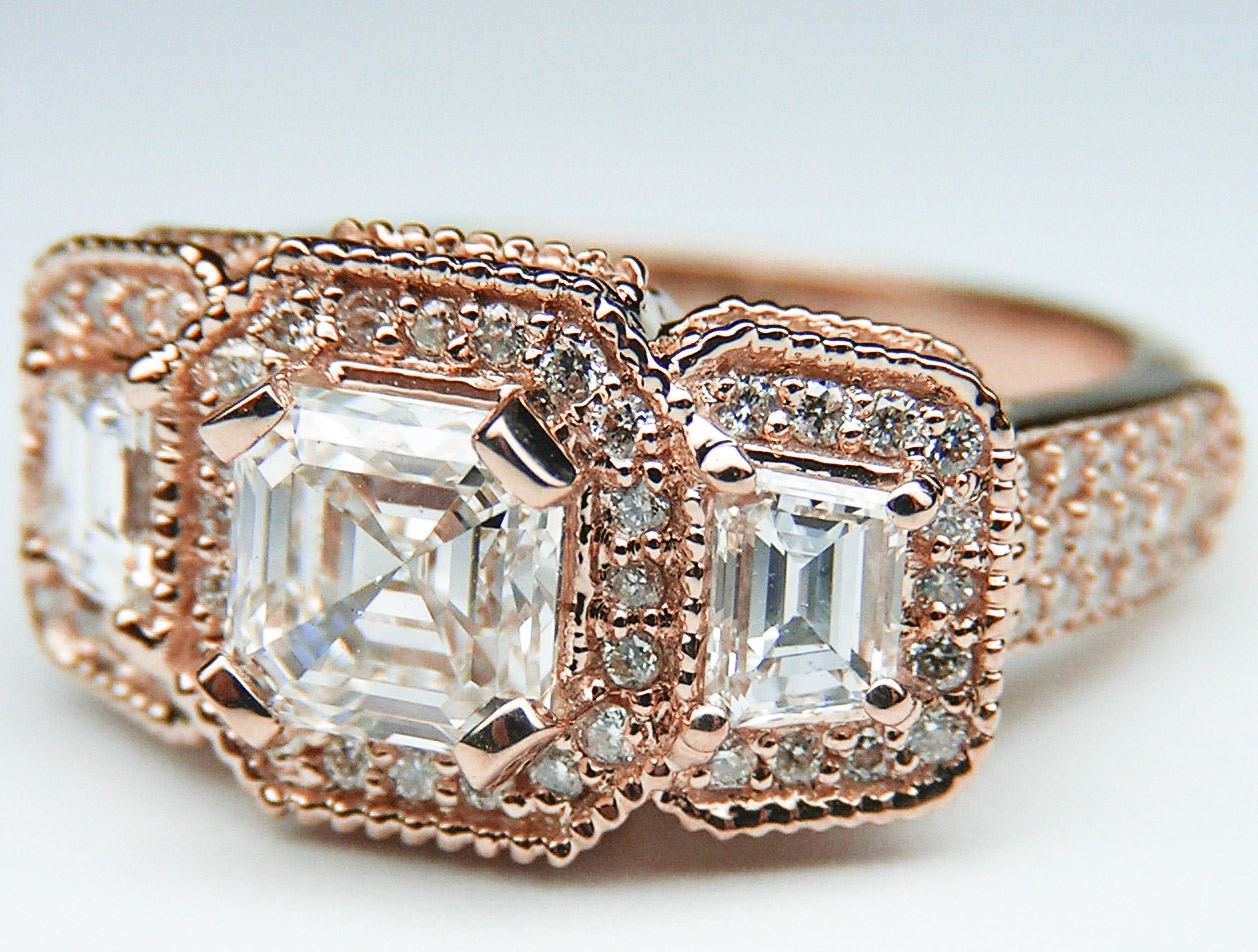 rose/pink-gold - engagement rings from mdc diamonds nyc