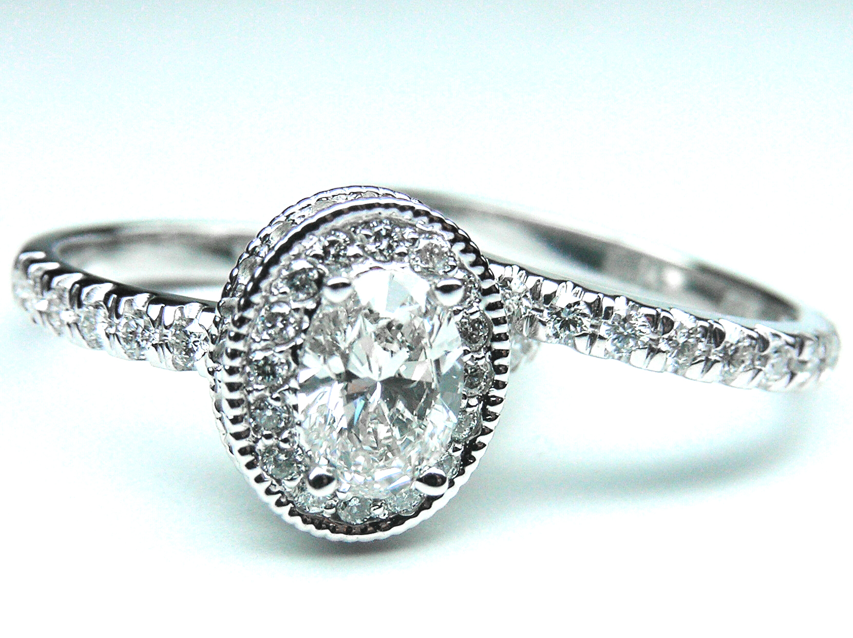 bridal set Engagement Rings from MDC Diamonds NYC