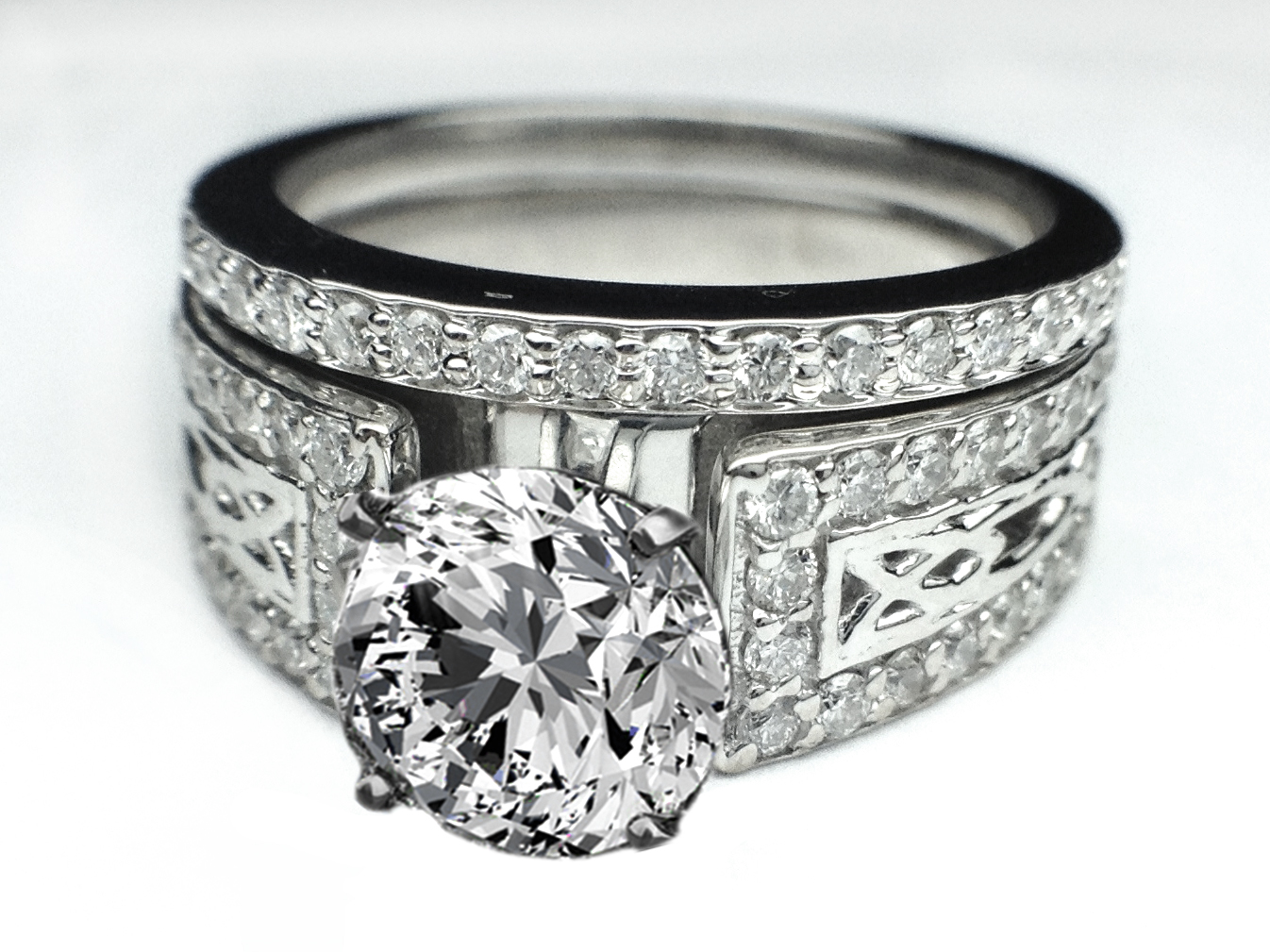 celtic wedding and engagement rings irish wedding ring celtic wedding and engagement rings