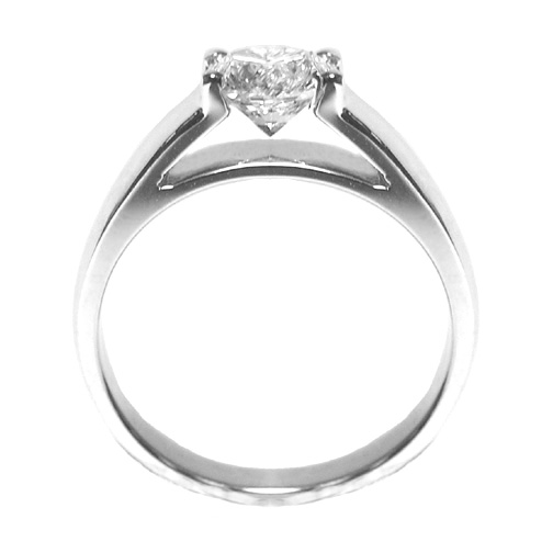 'Marry Me' Solitaire Cathedral Engagement Ring