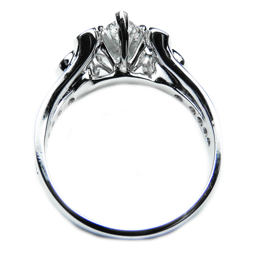 Marquise Musical Diamonds Engagement Ring