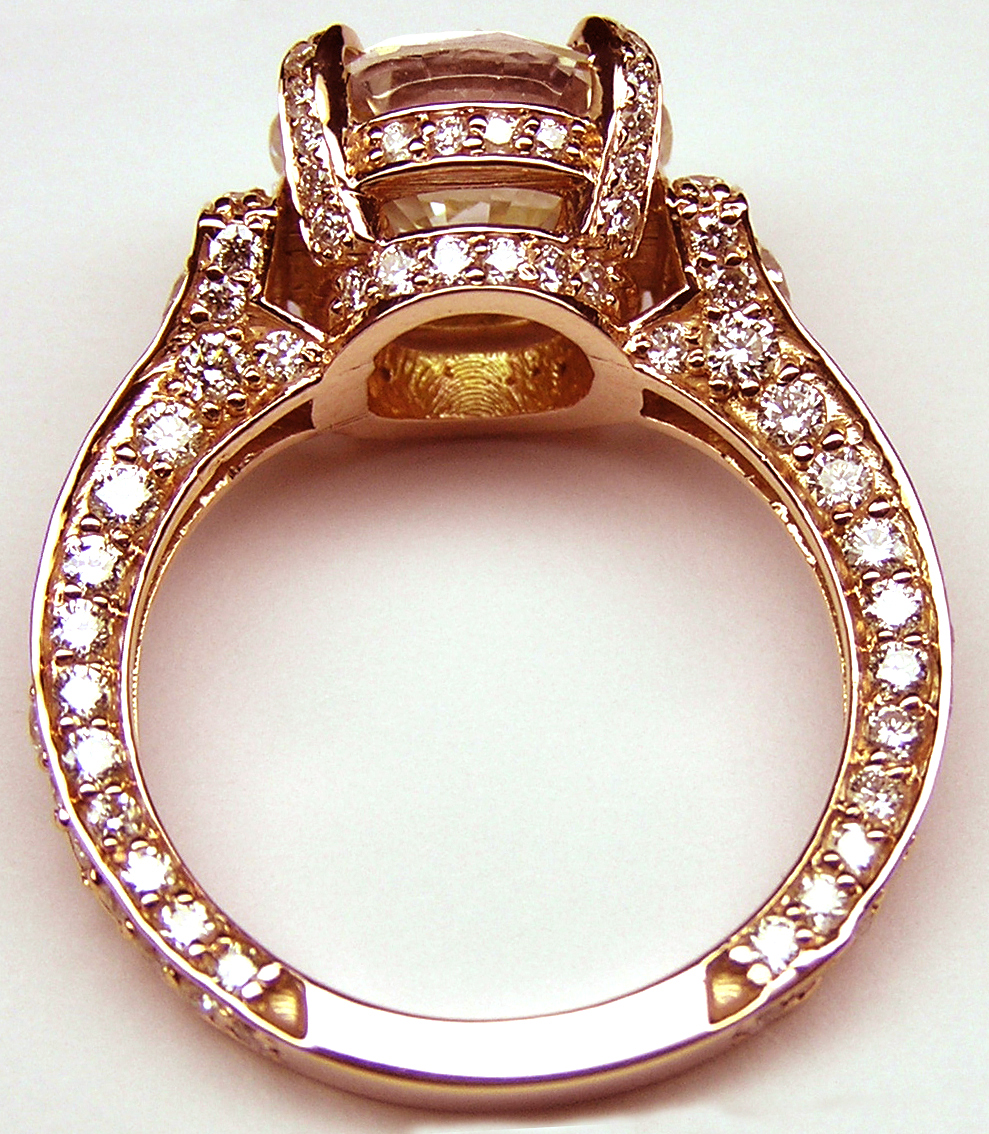 ring pave single rings diamond row cathedral engagement index cheap