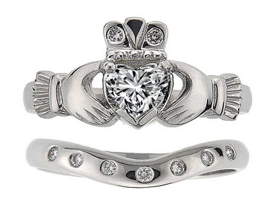 Claddagh Engagement Rings From Mdc Diamonds Nyc