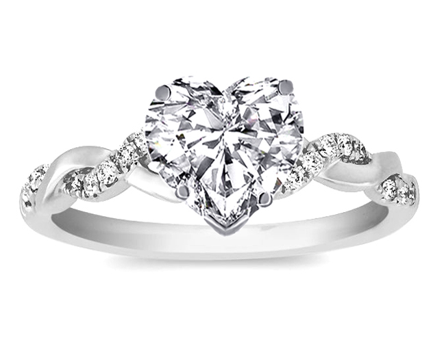 Heart - Engagement Rings from MDC Diamonds NYC