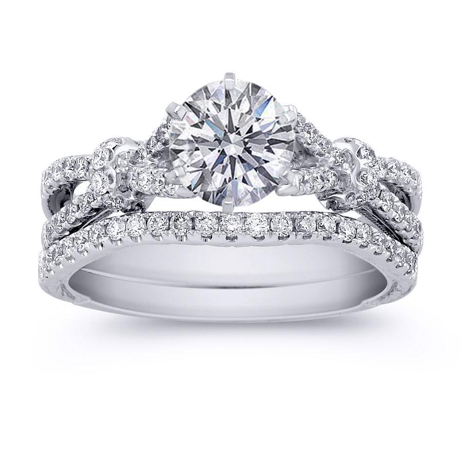 Bridal Set Wedding Rings