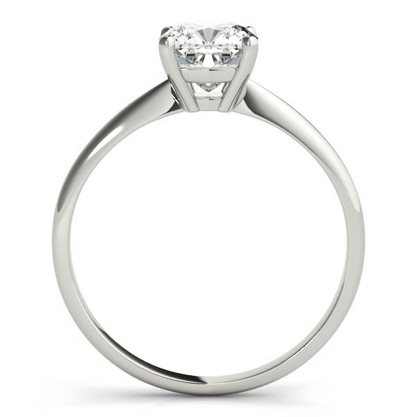 Classic Solitaire Cushion Engagement Ring
