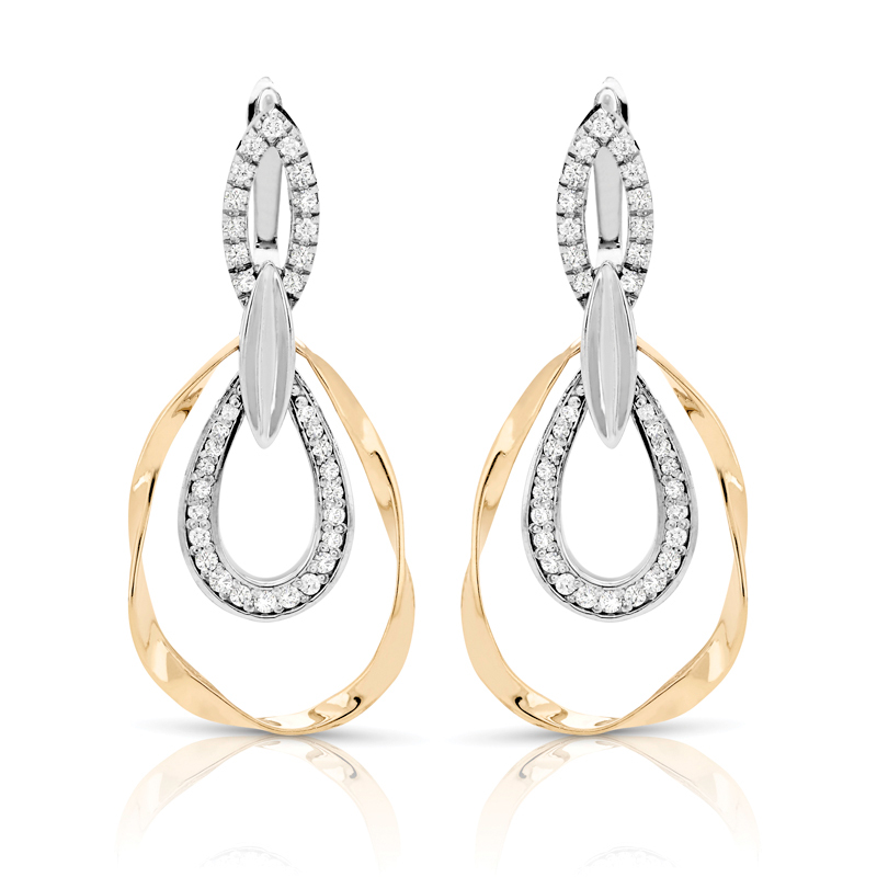 FEA48 Diamond Earring