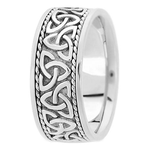 mens wedding rings celtic