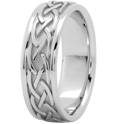 Celtic Men's Wedding Band