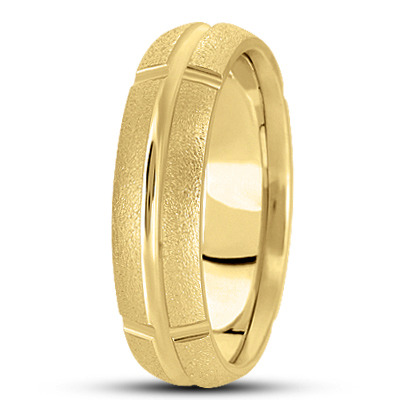 WB625YG Wedding Band