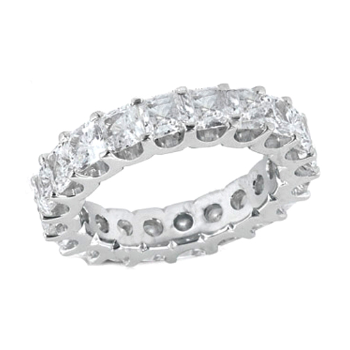 cut princess anniversary jewelers long channel large s set gold bands diamond white eternity collections band