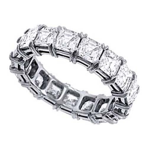 asscher wedding bands from mdc diamonds